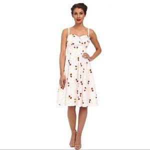 Stop Staring strawberry swing retro dress